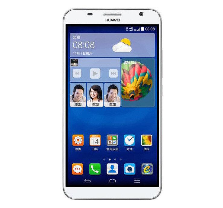 Huawei Ascend GX1: phablet 6 inch viền siêu mỏng chính thức ra mắt