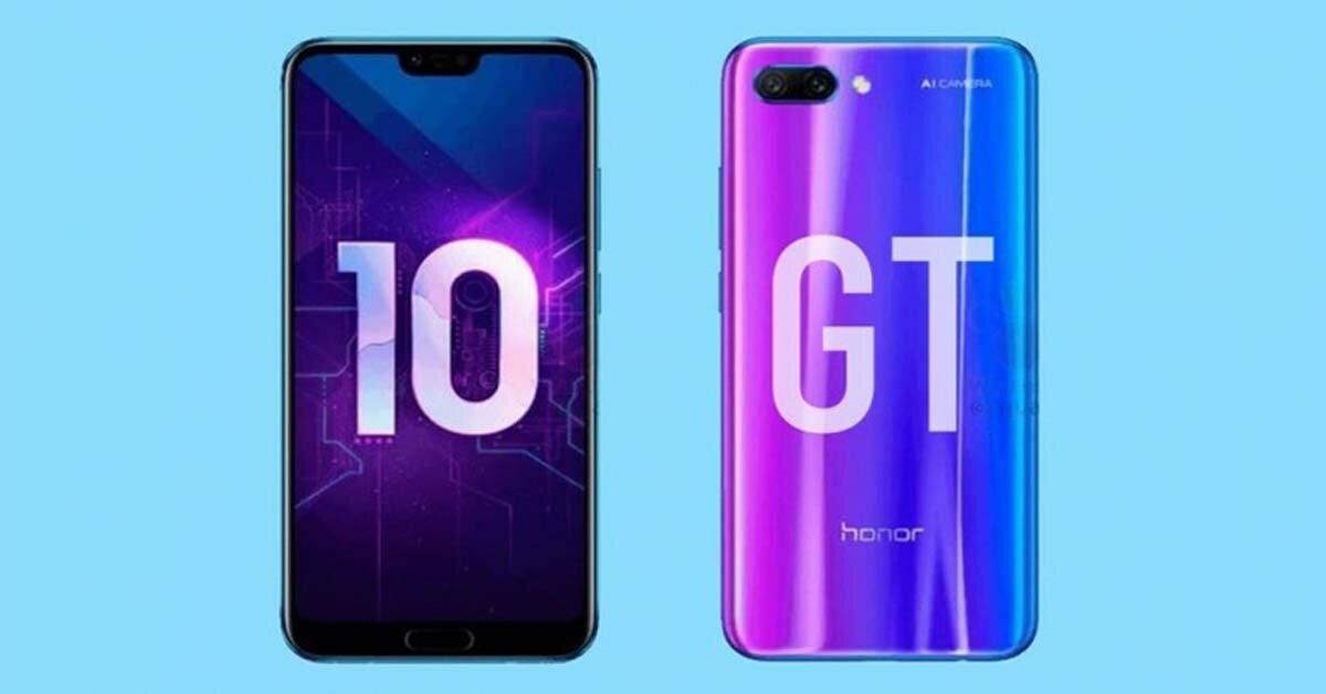 Huawei tung Honor 10 GT – smartphone chụp ảnh siêu đẹp, giá lại rẻ