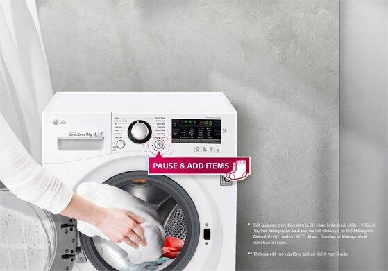 Hướng dẫn bật chế độ vắt của máy giặt LG cửa ngang các bước chi tiết
