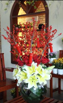 Hướng dẫn cách cắm 3 loại hoa Tết từ A đến Z đẹp lung linh