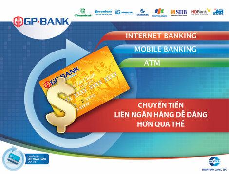 Hướng dẫn cách làm thẻ ATM ngân hàng GP Bank