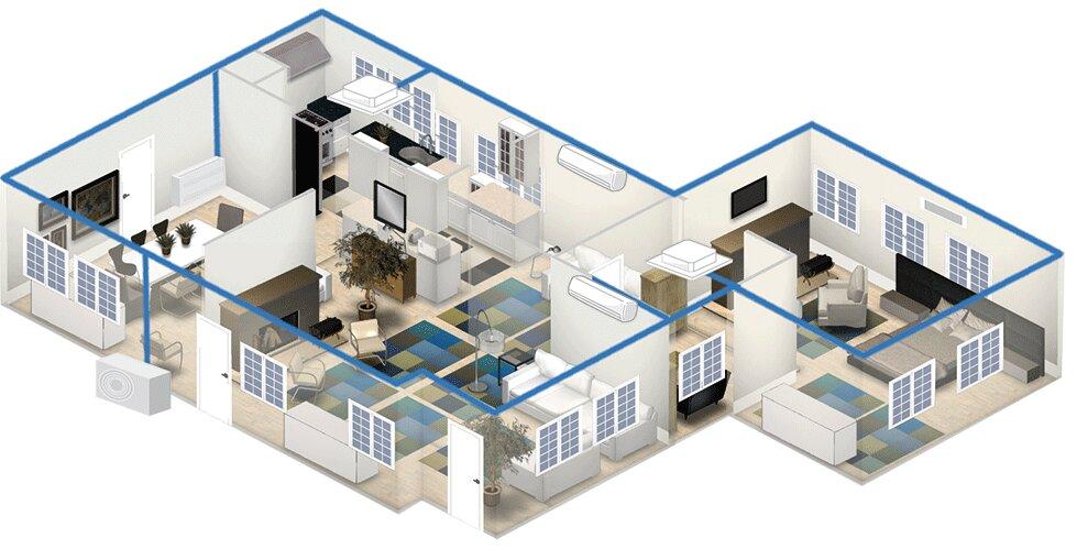 Hướng dẫn cách lắp đặt máy điều hòa nhiệt độ multi