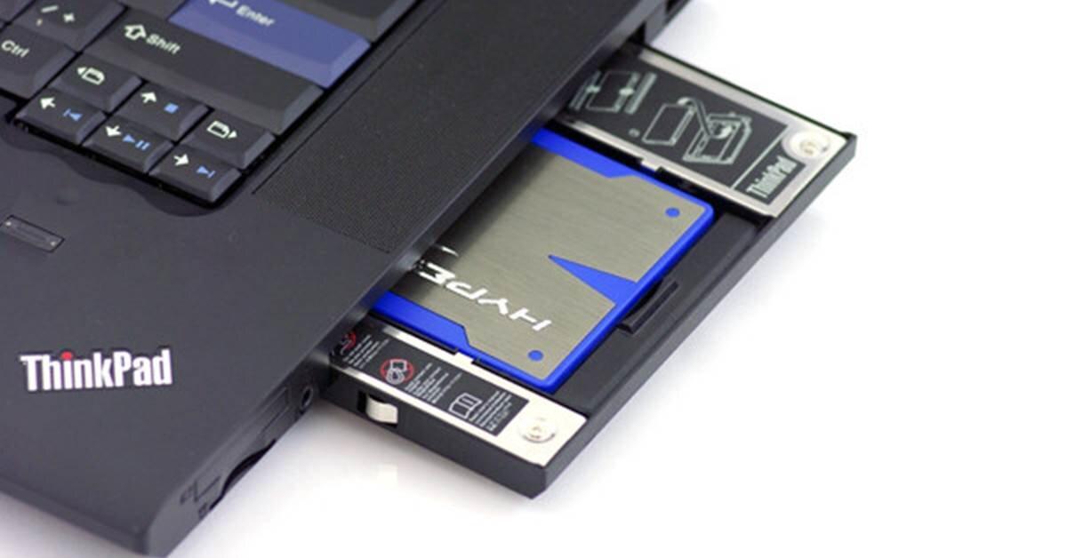 Hướng dẫn cách lắp thêm ổ cứng SSD cho laptop