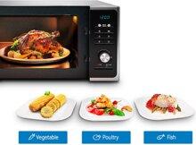 Hướng dẫn cách sử dụng lò vi sóng Samsung để hâm nóng, rã đông và nướng thịt cá