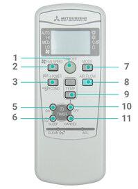 Hướng dẫn cách sử dụng remote máy lạnh điều hòa Mitsubishi Heavy 1 chiều – 2 chiều