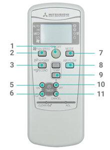 Hướng dẫn cách sử dụng remote máy lạnh điều hòa Mitsubishi Heavy 1 chiều - 2 chiều