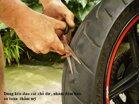 Hướng dẫn cách vá lốp không săm