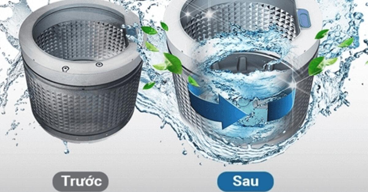 Hướng dẫn cách vệ sinh máy giặt cửa trên với giấm và baking soda thật dễ dàng