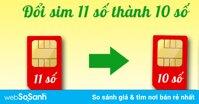 Hướng dẫn chuyển đổi danh bạn SIM 11 số thành SIM 10 số trên smartphone
