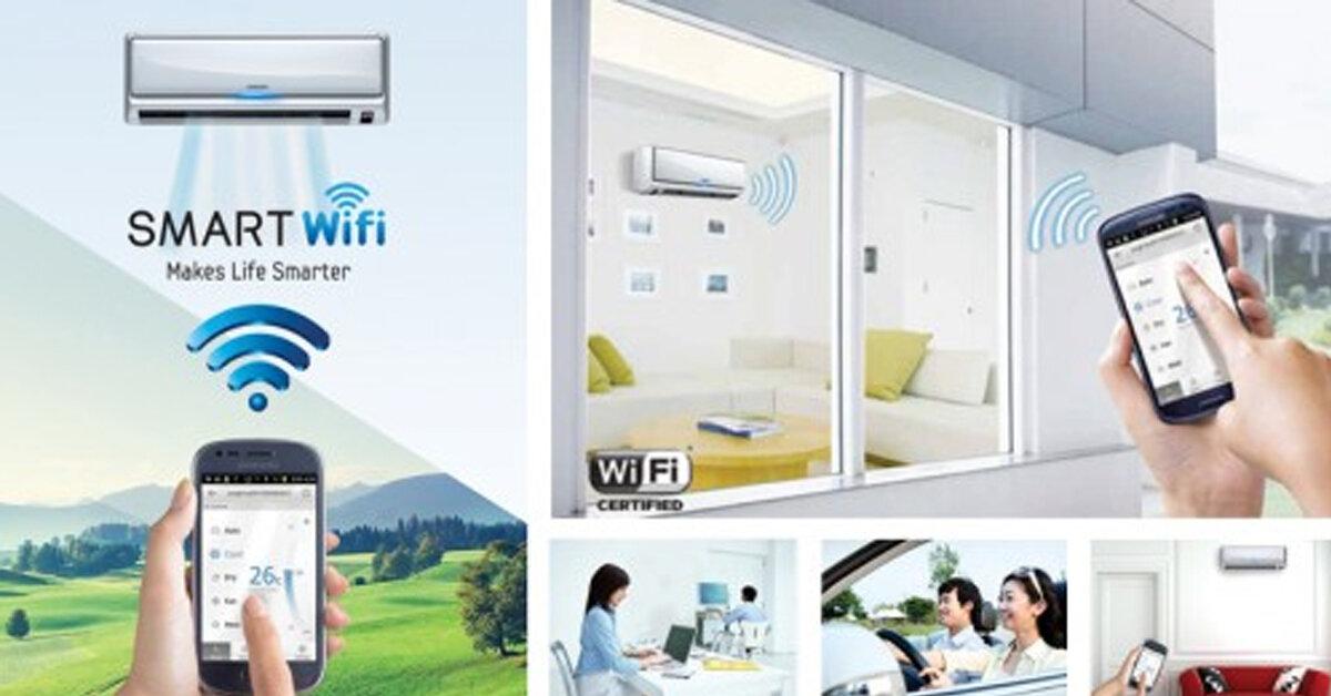 Hướng dẫn điều khiển dòng điều hòa Sharp Wifi bằng Smartphone