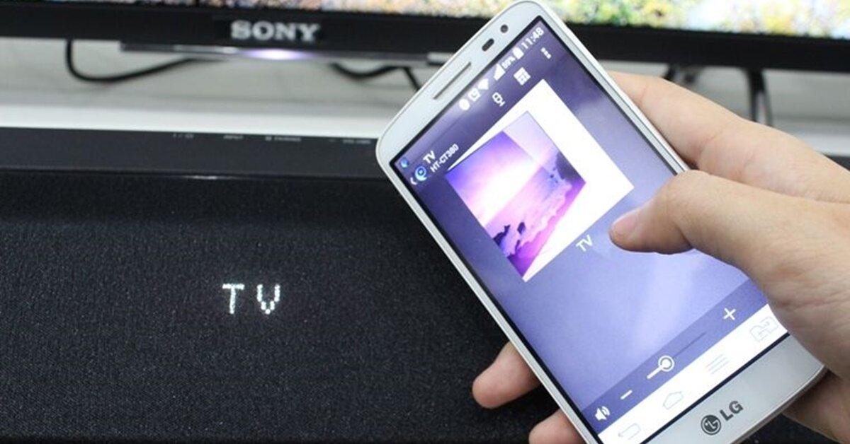 Hướng dẫn điều khiển loa soundbar của Sony bằng điện thoại
