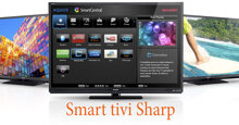 Hướng dẫn dò kênh trên smart tivi Sharp 2018