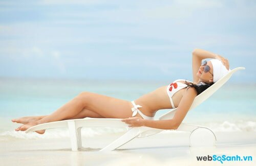 Hướng dẫn dùng kem tắm nắng cho một làn da nâu