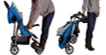 Hướng dẫn gấp mở và vệ sinh xe đẩy em bé đúng cách