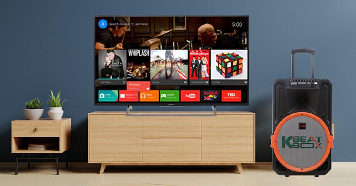 Hướng dẫn kết nối loa kéo di động với tivi
