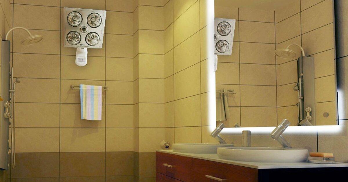 Hướng dẫn lắp đặt đèn sưởi nhà tắm chuẩn nhất