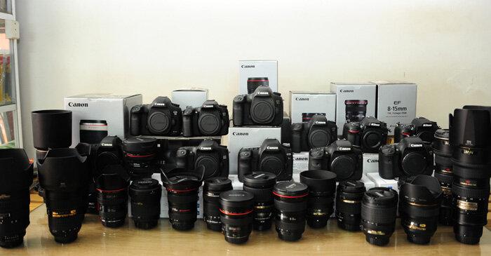 Hướng dẫn mua máy ảnh cũ chi tiết nhất
