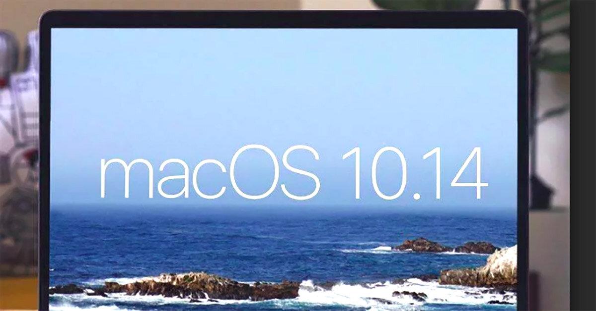 Hướng dẫn nâng cấp hệ điều hành MacOS 10.14 Mojave mới nhất trên Macbook