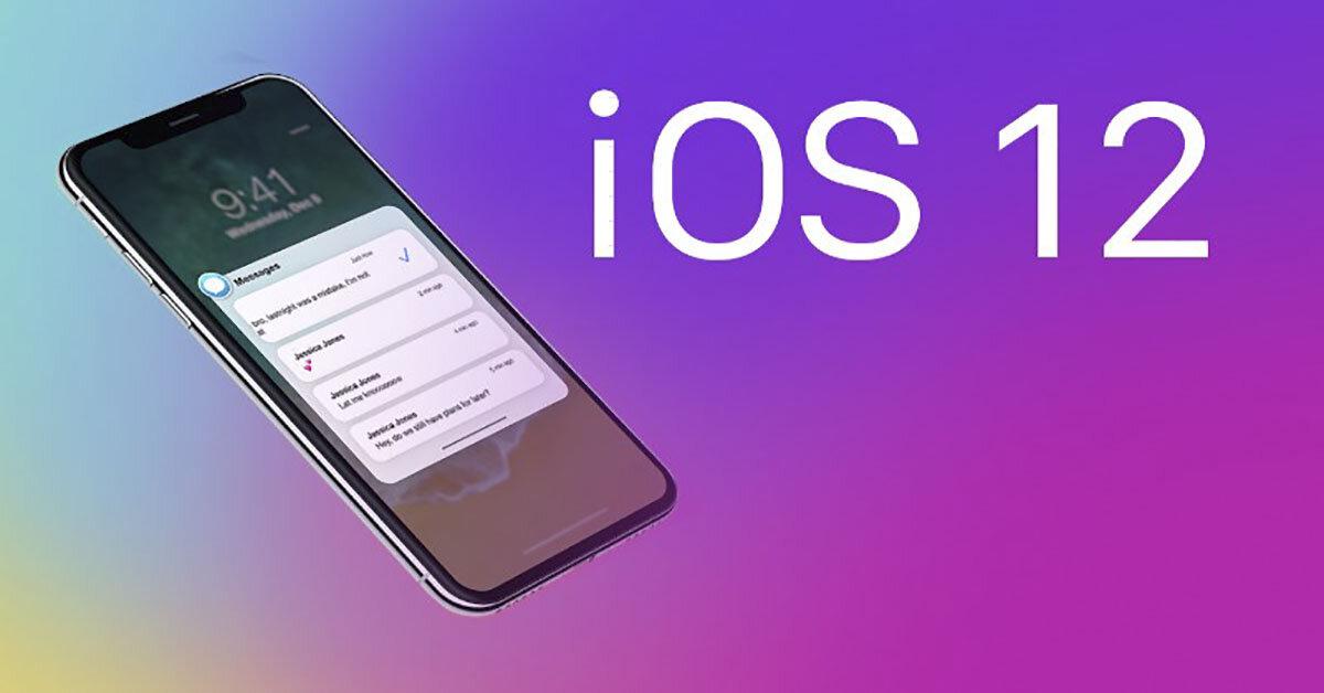 Hướng dẫn nâng cấp phần mềm iOS 11 lên hệ điều hành iOS 12 Beta trên iPhone