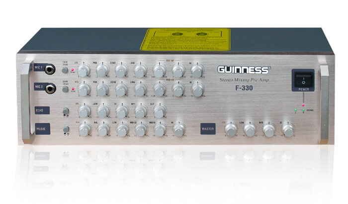 Hướng dẫn sử dụng Amply Mixer Guinness F-330 an toàn