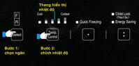 Hướng dẫn sử dụng các chức năng trên tủ lạnh Hitachi