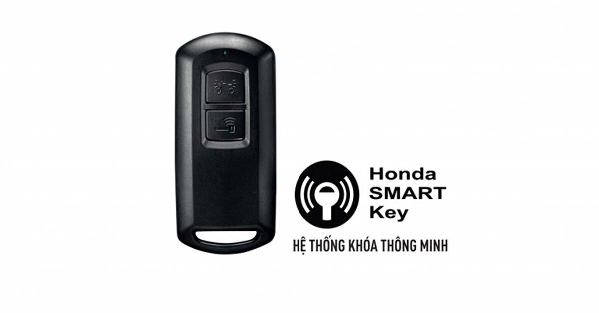 Hướng dẫn sử dụng chìa khóa thông minh SMARTKEY trên xe máy Honda Air Blade 2018