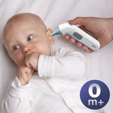 Hướng dẫn sử dụng nhiệt kế điện tử đo tai Braun chính xác nhất cho bé