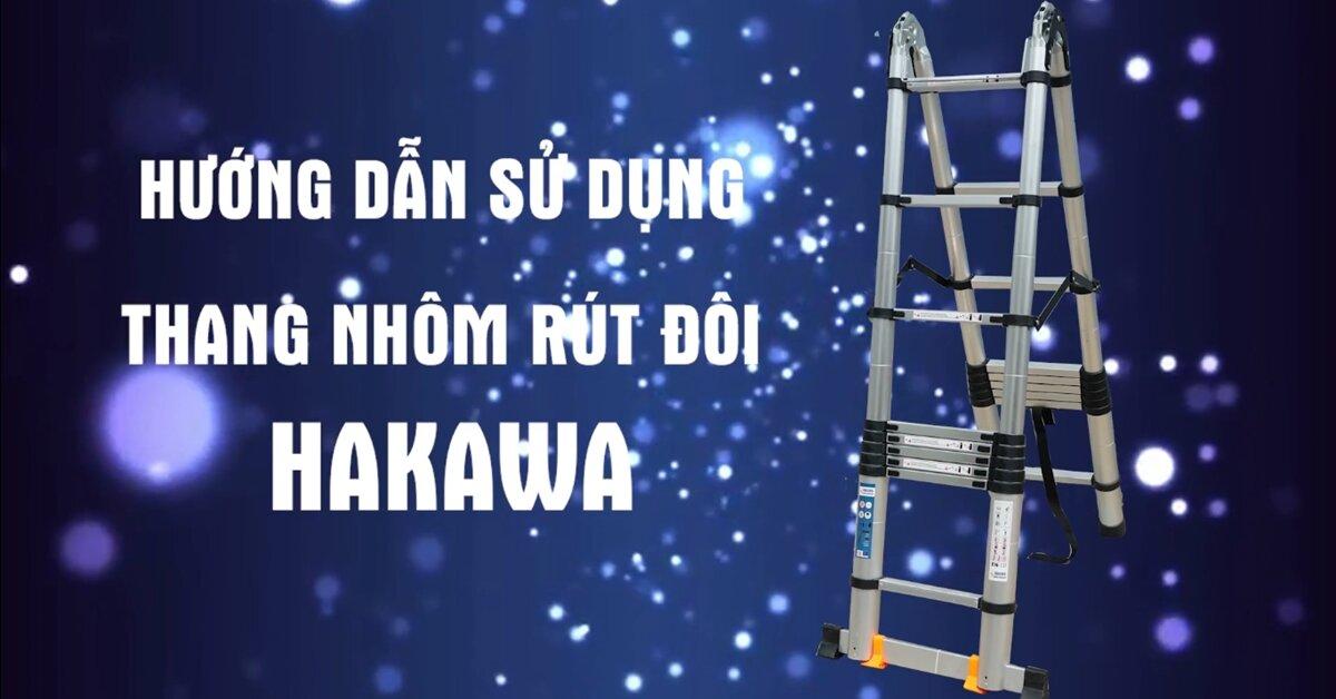 Hướng dẫn sử dụng thang nhôm rút đôi chữ A