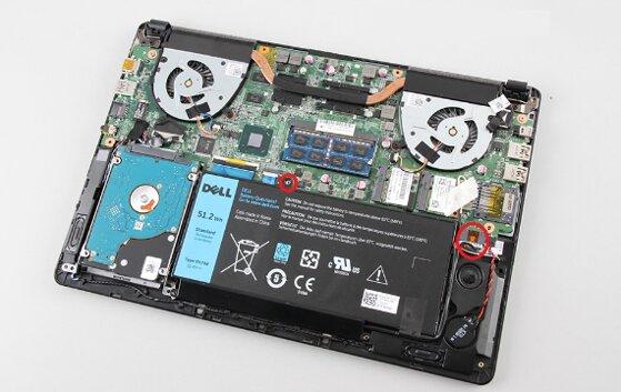 Hướng dẫn thay pin laptop Dell và cách kiểm tra độ chai chi tiết