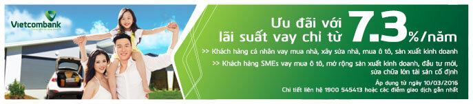 Hướng dẫn thủ tục đăng ký vay mua nhà ngân hàng Vietcombank