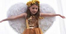 Hướng dẫn tự làm cánh thiên thần bằng lông vũ cho bé chơi Trung thu