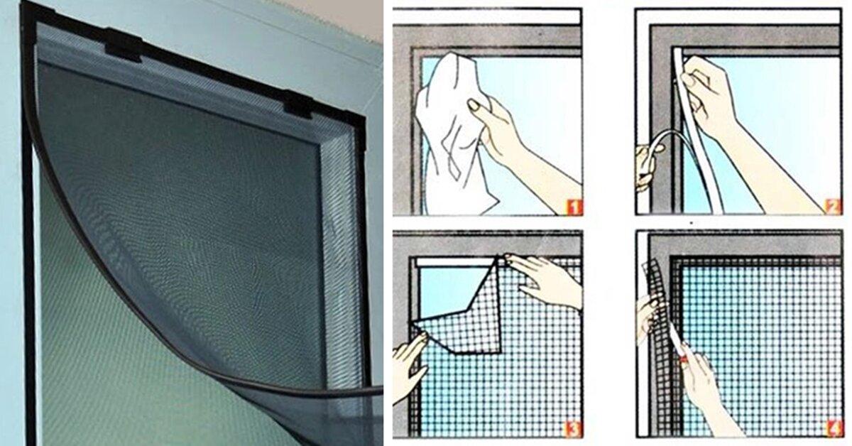 Hướng dẫn tự làm lưới chống muỗi đơn giản để phòng dịch sốt xuất huyết