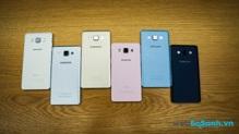 Đánh giá Samsung Galaxy A5 vỏ kim loại nguyên khối sang trọng