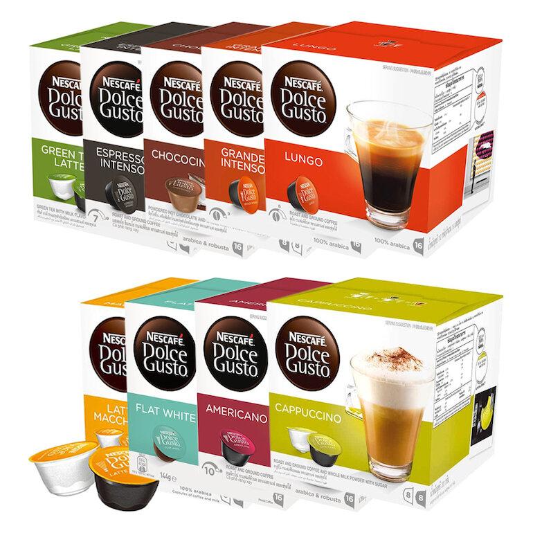 Viên nang cà phê nhiều hương vị Nescafe Dolce Gusto