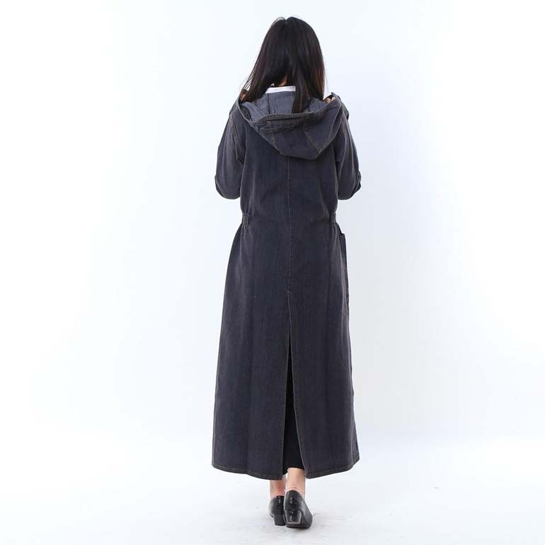 áo chống nắng toàn thân vải bò