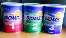 Bảng giá sữa bột công thức Biomil cập nhật mới nhất tháng 2/2017