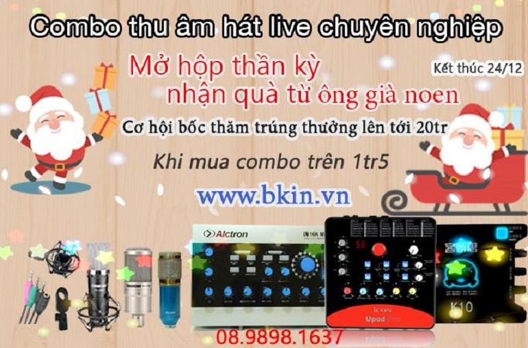 hệ thống thu âm hát live
