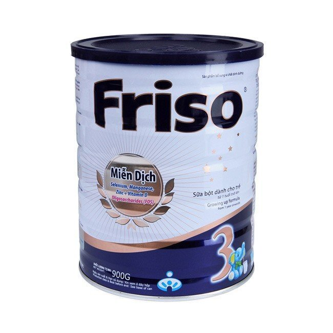 Sữa bột Friso Gold 3 - hộp 900g (dành cho trẻ từ 1 - 3 tuổi)