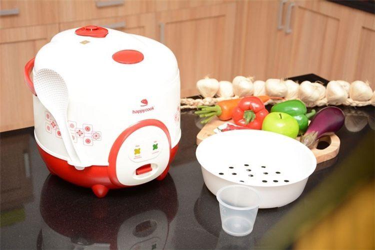 Nồi cơm điện Happy Cook của nước nào sản xuất ?