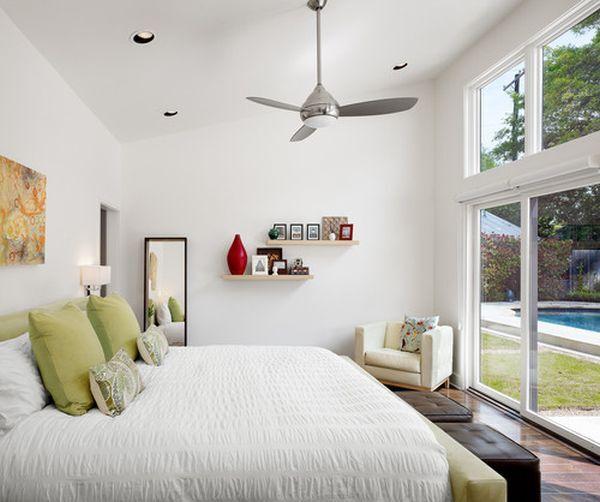 quạt trần trang trí phòng ngủ