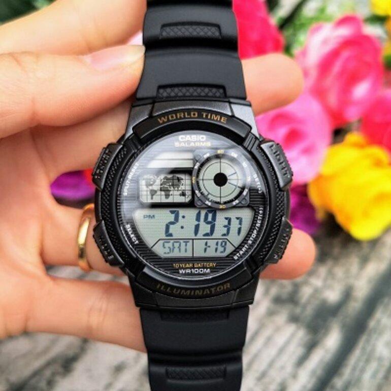 Đồng hồ trẻ em nam Casino AE-1000W-1AVDF