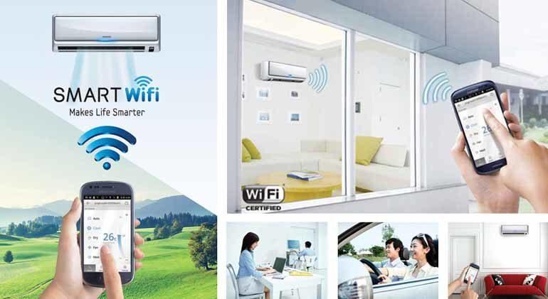 điều hòa wifi