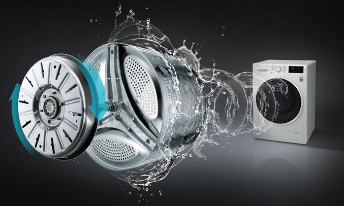 Máy giặt LG FC1408s4W2 tiết kiệmđiện và tiết kiệm nước