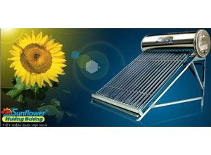 Giàn năng lượng mặt trời Tân Á 220L phi 58