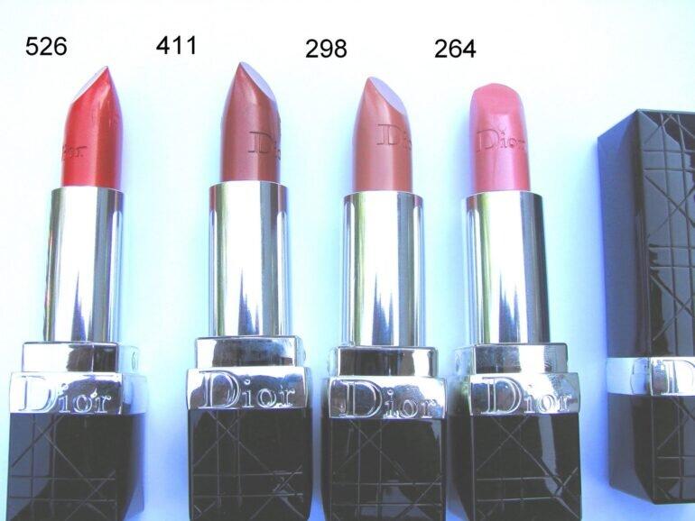 Son môi màu cam đất Dior 526