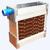Cooling pad trên máy làm mát không khí là gì? Nguyên lý hoạt động của tấm trao đổi nhiệt trên air cooler