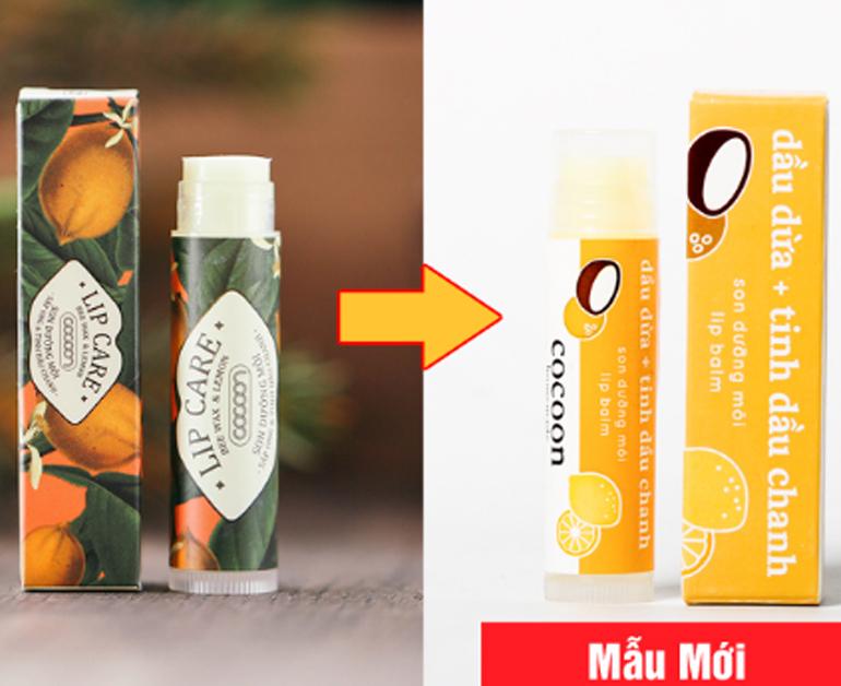 Son dưỡng môi Cocoon dầu dừa và tinh dầu chanh