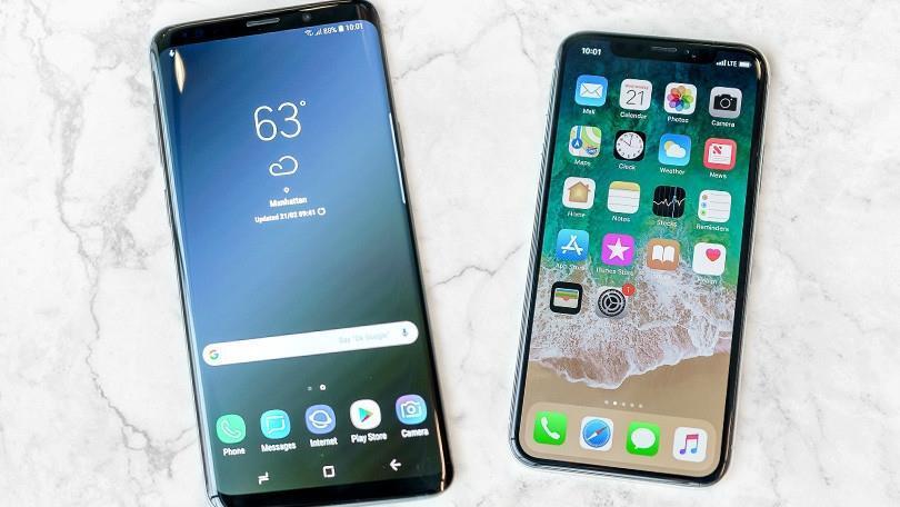 Galaxy S9 giá rẻ, giá Iphone X