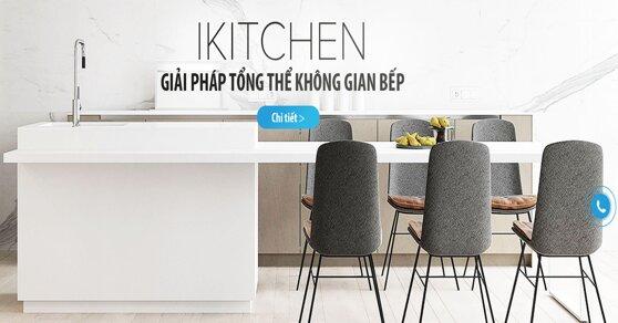 iKitchen – Nơi phòng bếp trở thành nguồn cảm hứng của ngôi nhà