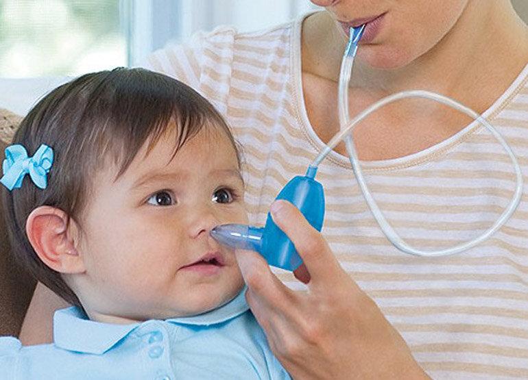 Dụng cụ hút mũi trẻ em dạng dây